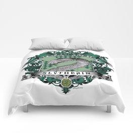 Slytherin Color Crest Comforters