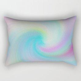 Soft Swirl Pattern Rectangular Pillow