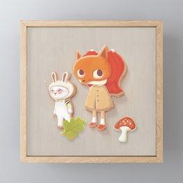 Icing Cookie Framed Mini Art Print