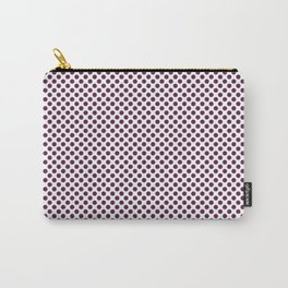 Wild Berry Polka Dots Carry-All Pouch