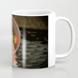 Strawberries in a Glass Bowl - Old World Stills Series Coffee Mug
