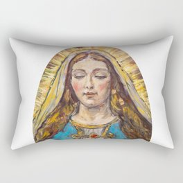 Beata Virgen Maria Rectangular Pillow