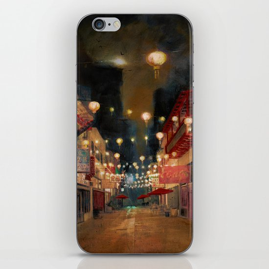 Lights on Chung King iPhone & iPod Skin