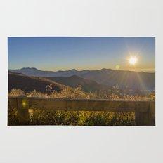 Sunrise on the Blue Ridge #2 Rug
