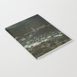Hiking Around the Mountains & Valleys of New Zealand Notebook
