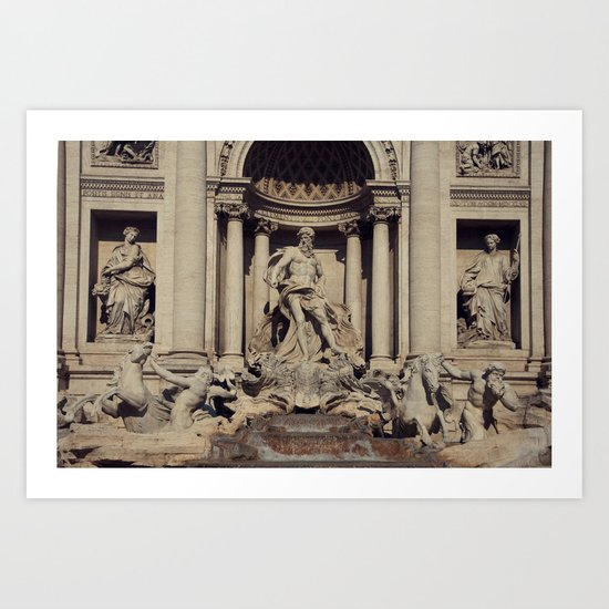 Trevi Fountain Art Print