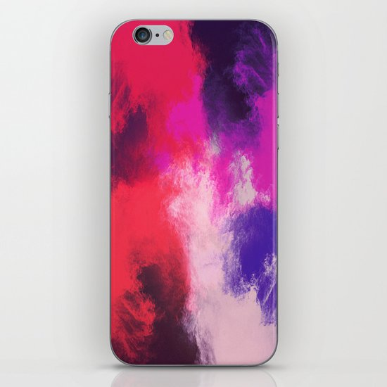 Painted Clouds iPhone & iPod Skin