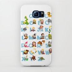 ABC  medieval (english) Slim Case Galaxy S6