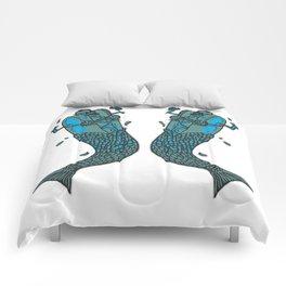 Hot Dog Mermaid! Comforters