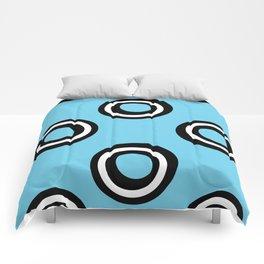 Round Circles Comforters