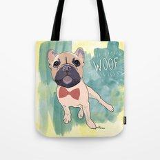 Frenchie Art. Bruno. Tote Bag