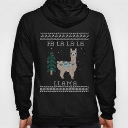 Festive Llama Hoody