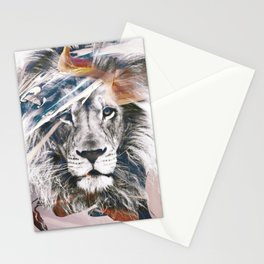 LION 6 Stationery Cards