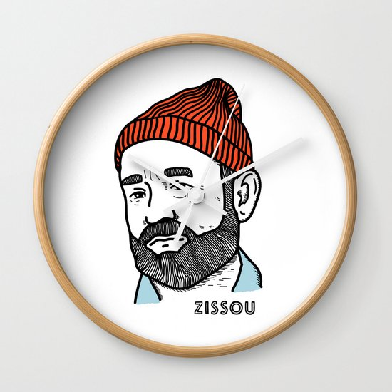 Zissou Wall Clock