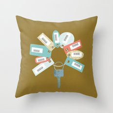 Disloyal Throw Pillow