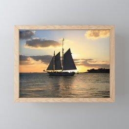 A way to the sun Framed Mini Art Print