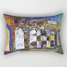 City Sound of Berlin Rectangular Pillow