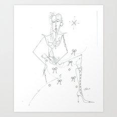 paper_9 Art Print
