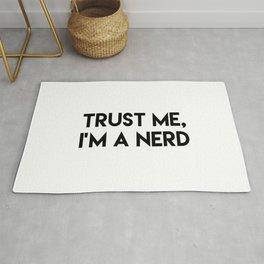 Trust me I'm a nerd Rug