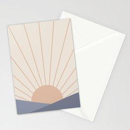 Morning Light - Blue Stationery Cards