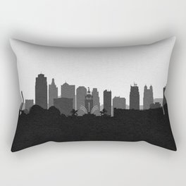 City Skylines: Kansas City (Alternative) Rectangular Pillow