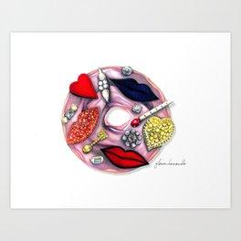 Stella Couture Donut Art Print