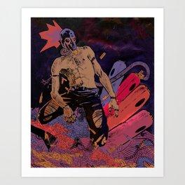 Pastel Punk Art Print