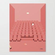 GÅ I BIOGRAFEN Canvas Print