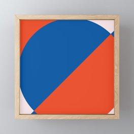 Geometric Tiles Framed Mini Art Print