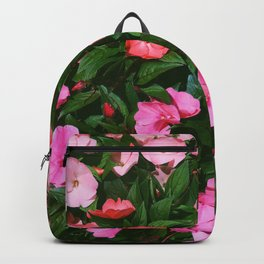 New Guinea Impatiens Backpack