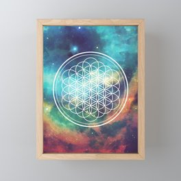Flower Of Life 008 Framed Mini Art Print