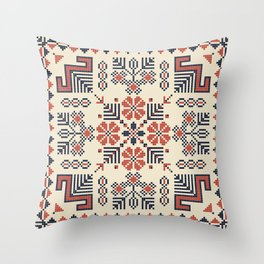 Embroidery from Palestine Throw Pillow