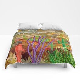 Desert City Phoenix Comforters