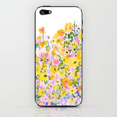 Flower Fields Sunshine iPhone & iPod Skin