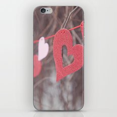 Hearts on a String iPhone & iPod Skin