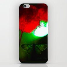 night butterfly iPhone & iPod Skin