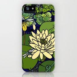 Garden Pond iPhone Case