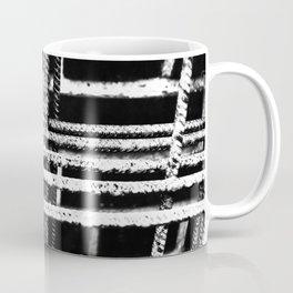 Rebar And Brick - Industrial Abstract Coffee Mug