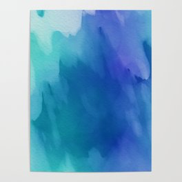 Watercolor style Poster