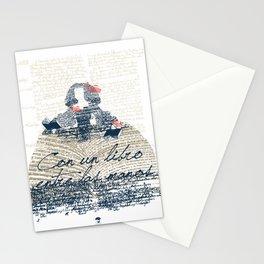Menina of the books Stationery Cards