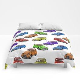2cv pattern small Comforters
