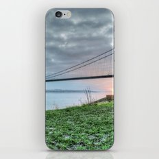 Sunset at the Humber Bridge iPhone & iPod Skin