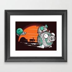 BB-Gir Framed Art Print