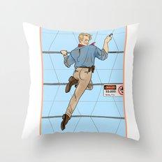 Jurassic Park Pin-Ups ~ Alan Grant Throw Pillow