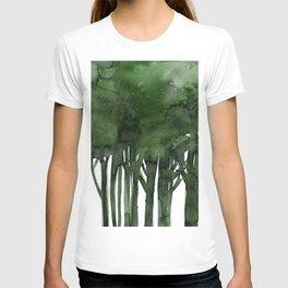 Tree Impressions No.1C by Kathy Morton Stanion T-shirt
