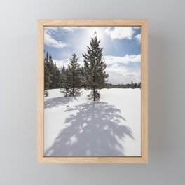 Gardners Hole, Yellowstone National Park Framed Mini Art Print