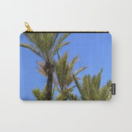 Paradise Palm Tress Carry-All Pouch