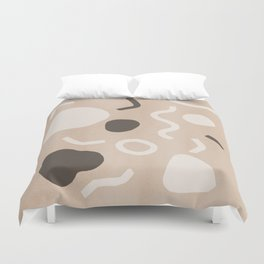 Abstract Confetti Duvet Cover