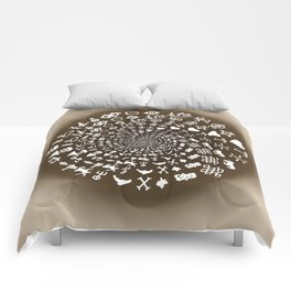 Coffee Lovers Mandala Comforters