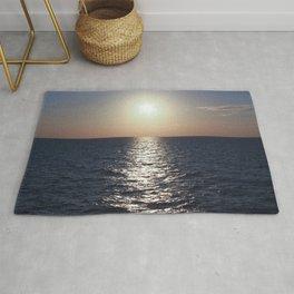 Sunset, Santorini Rug